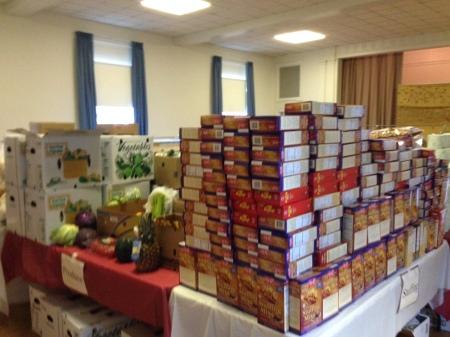 thanksgiving food drive 2013 3