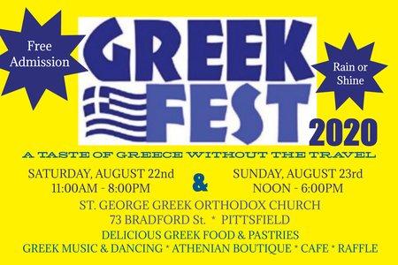 greek fest 2020